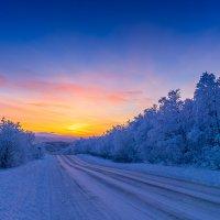 Первое солнце после полярной ночи :: Александр Теддер