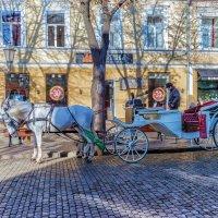 ...На Дерибасовской, хорошая погода!.. :: Вахтанг Хантадзе