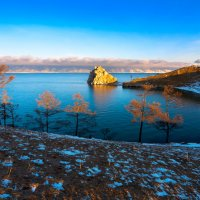 Байкал в утреннем свете :: Анатолий Иргл