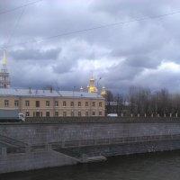 Вид на Казачью церковь с Обводного канала. (Санкт-Петербург). :: Светлана Калмыкова