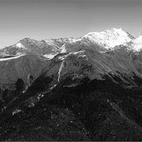 Вид на запад с точки Роза Пик высота 2320 м. :: Mi Fo