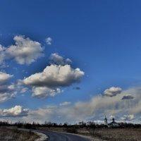Облака цветущих черемух, По весне начинают плыть. :: АЛЕКСАНДР СУВОРОВ