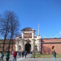 Ворота в Петропавловскую крепость. (Санкт-Петербург). :: Светлана Калмыкова