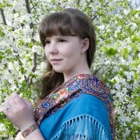 Весенний портрет :: Анастасия Рогозина