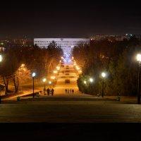 Пятигорск. Лестница от памятника В.И. Ленину. :: Олег Брусенцев