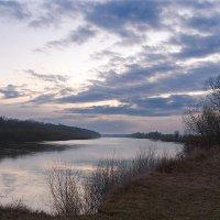 Тихий вечер над Десной. :: Андрий Майковский