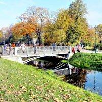 Осень в Таврическом саду :: Николай