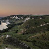 Встречая рассвет на меловых холмах 2015 :: Юрий Клишин