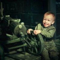Маленький защитник :: Екатерина Бондаренко