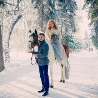 Свадебная прогулка :: Оксана Кузьмина