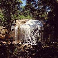Водопад в лесу :: Виталий Терентьев