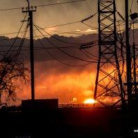 Закат энергии и тепла :: Eduard Mirakyan