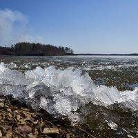 Иртяш. Таяние льда. :: Сергей Адигамов