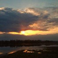 весенний закат :: ВладиМер