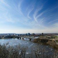 Мост Александры соединяющий две провинции Канады :: Юрий Поляков