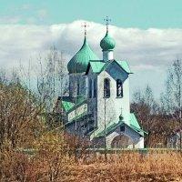 Церковь преподобного Сергия Радонежского :: Олег Попков