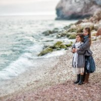 Две сестренки :: Александра Капылова