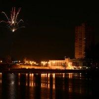 Дворец спорта Пушкино (ночное фото) :: Петр