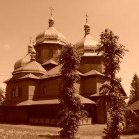 Греко - католический   храм  в    Ямнице :: Андрей  Васильевич Коляскин