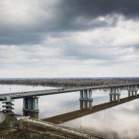 Мост. Речной вокзал Барнаула :: Иван Иванов