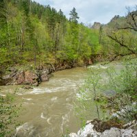 Река Белая в апреле :: anatoly Gaponenko