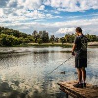 На рыбалке.................... :: Александр Селезнев