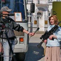 репортаж с оружием в руках :: Андрей Козлов