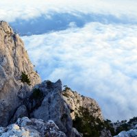Прогулка над облаками :: Ольга Голубева