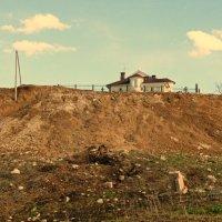 Дом у облаков... :: Андрей Головкин