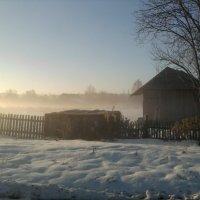 Улица в тумане. :: Марина Китаева