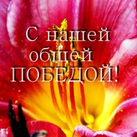 С Праздником Победы, друзья! :: Надя Кушнир