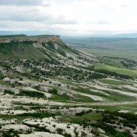 Волшебные склоны Белой скалы (Ак-Кая) :: Ольга Голубева