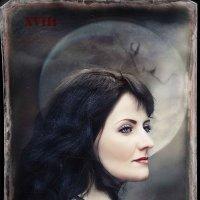 """Карты Таро, """"Луна"""" :: Екатерина Щербакова"""