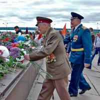 Ветераны чтут и помнят павших! :: Наталья