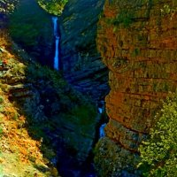 КУЛОСЬЯ, водопад, низ. :: Виктор Осипчук