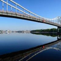 Пешеходный мост. Киев :: Roman Globa