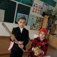 """На уроке """"Бей, дубинка!"""" по узбекской народной сказке :: Михаил Костоломов"""