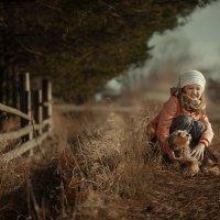 Человек собаке друг :: Любовь Юрченко (Покацкая)
