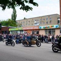 Байкеры на параде :: Владимир Болдырев