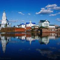 Храм в честь Казанской иконы Божьей Матери (п.Тельма) :: Алексей Белик