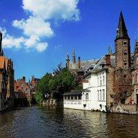 Каналы Брюгге, Бельгия :: Борис Соловьев