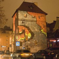 Гданьск, картина на стене :: Вячеслав
