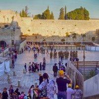 Стена Плача в Иерусалиме. :: Лара ***