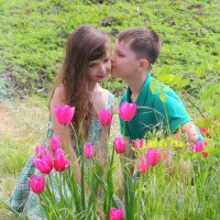 Поцелуй :: оксана косатенко