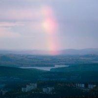 Вечерняя радуга :: vladimir Bormotov