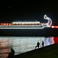 вечер на ялтинской набережной :: Елена