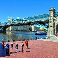 Андреевский (Пушкинский) пешеходный мост :: Анатолий Колосов