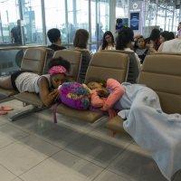 2017. Таиланд. Бангкок. Аэропорт (5) :: Владимир Шибинский