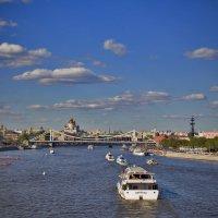 Облака как корабли.... корабли, как облака. :: Екатерина Рябинина