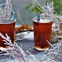 Утренний чай с инеем :: Сергей Чиняев